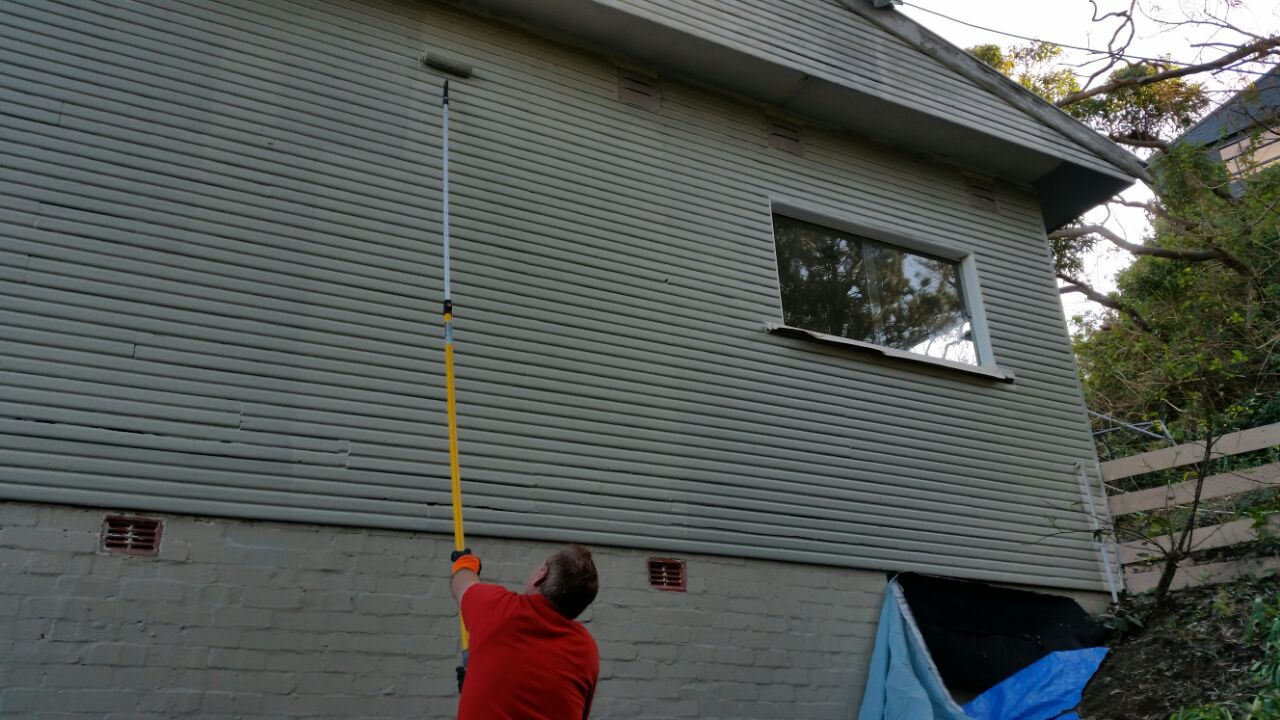 Bilgola Beach , Old style House Exterior Painting – Remedial –Repair