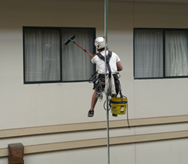 High Rise Window Cleaning And Facade Washing